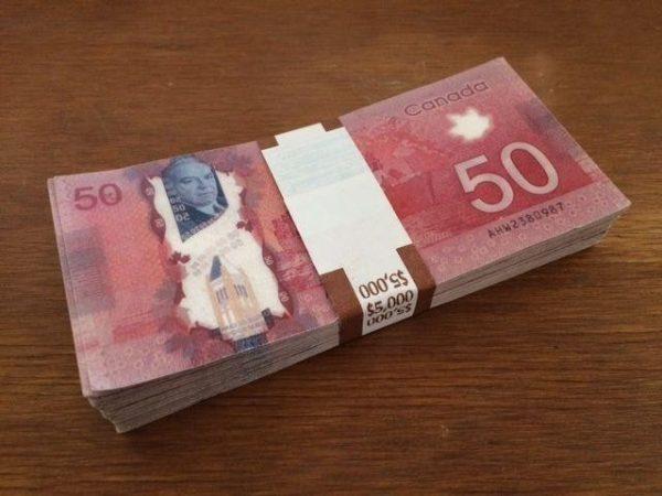 CAD $50 Bills