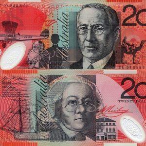 AUD $20 Bills