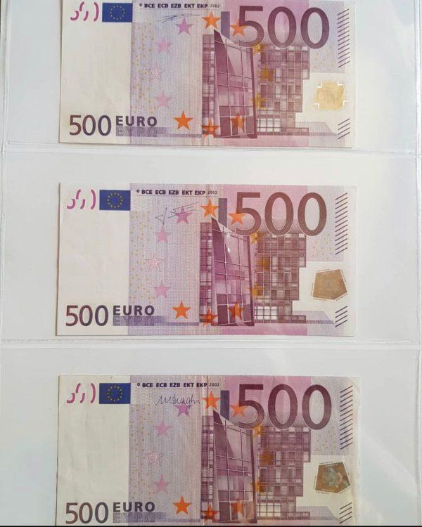 Euro €500 Bills