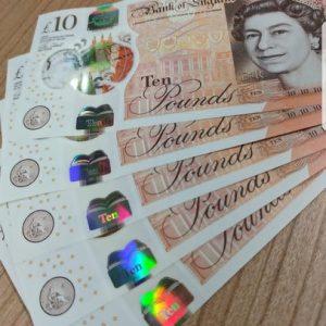 GBP £10 Bills