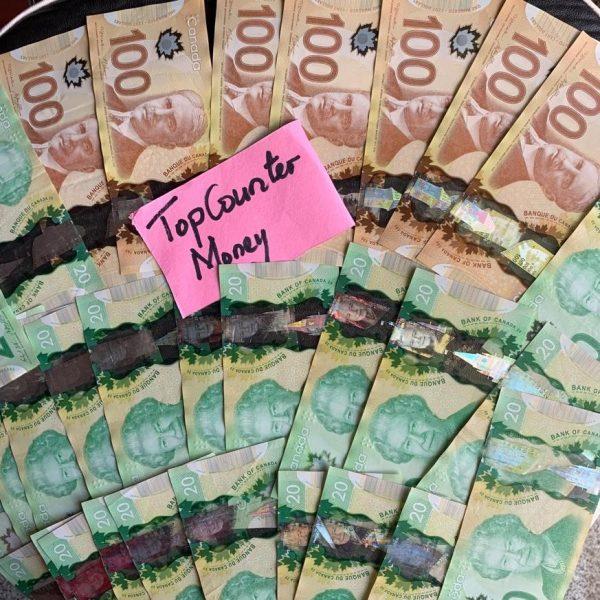 CAD $20 Bills