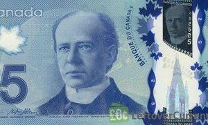 CAD $5 Bills