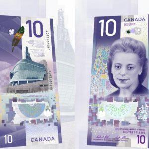CAD $10 Bills