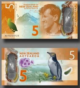 NZD $5 Bills