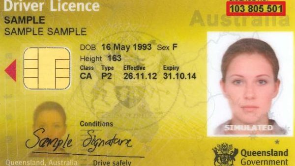 AUSTRALIAN ID CARD AND DRIVERS LICENSE