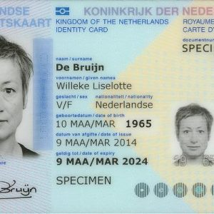 Buy fake Dutch ID card online