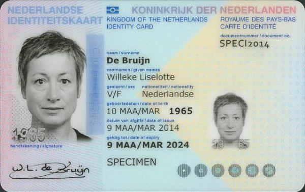 Buy fake Dutch ID card online