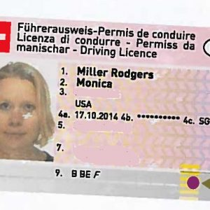 Buy fake Switzerland Drivers Licence online