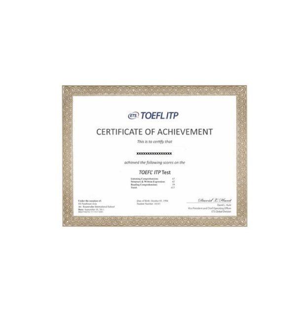 Buy Real English Certificates