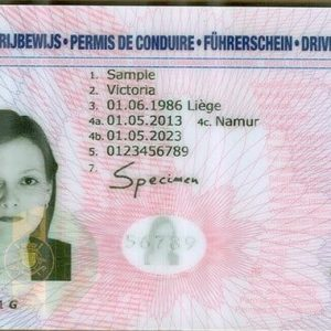 Fake Belgian Drivers license For sale online legit.