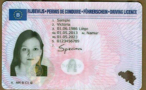 Fake Belgian Drivers license For sale online legit.