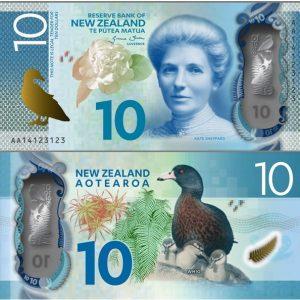 NZD $10 Bills