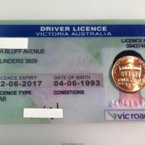 Australian Drivers license - Victoria