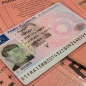 France Drivers license