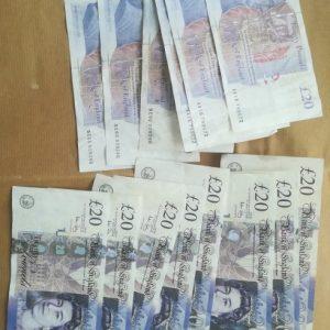 GBP £20 Bills