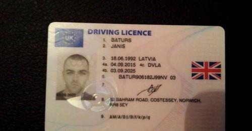 Fake ID & Drivers license - UK