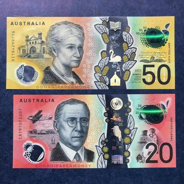 AUD $50 Bills