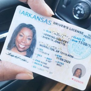 Fake ID & Drivers license (ARKANSAS)